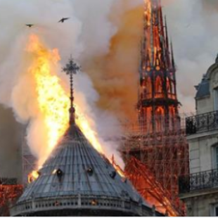 """<span class=""""entry-title-primary"""">Notre Dame on Fire</span> <span class=""""entry-subtitle"""">JUPITER RETROGRADE IN MIDHEAVEN</span>"""